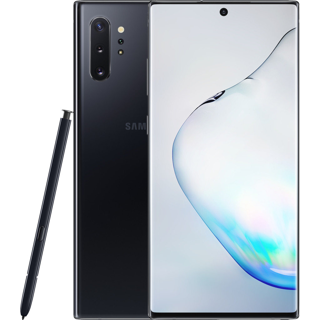 Samsung Galaxy Note 10 Plus 512GB Zwart-512 GB opslagcapaciteit  6,8 inch quad hd scherm  Android 9.0 Pie