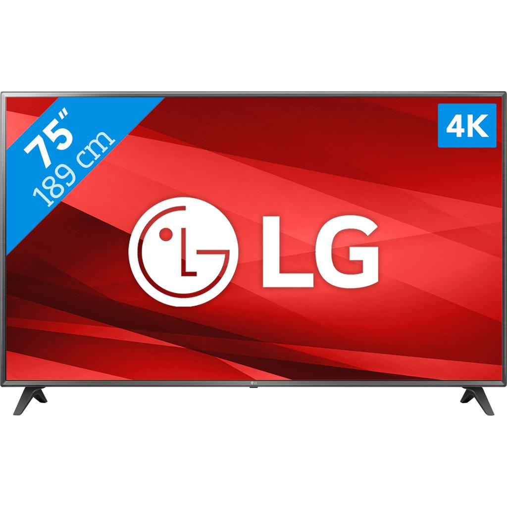 LG Electronics 75UM7110 LED-TV 189 cm 75 inch Energielabel: A (A++ E) DVB-T2, DVB-C, DVB-S, UHD, Sma