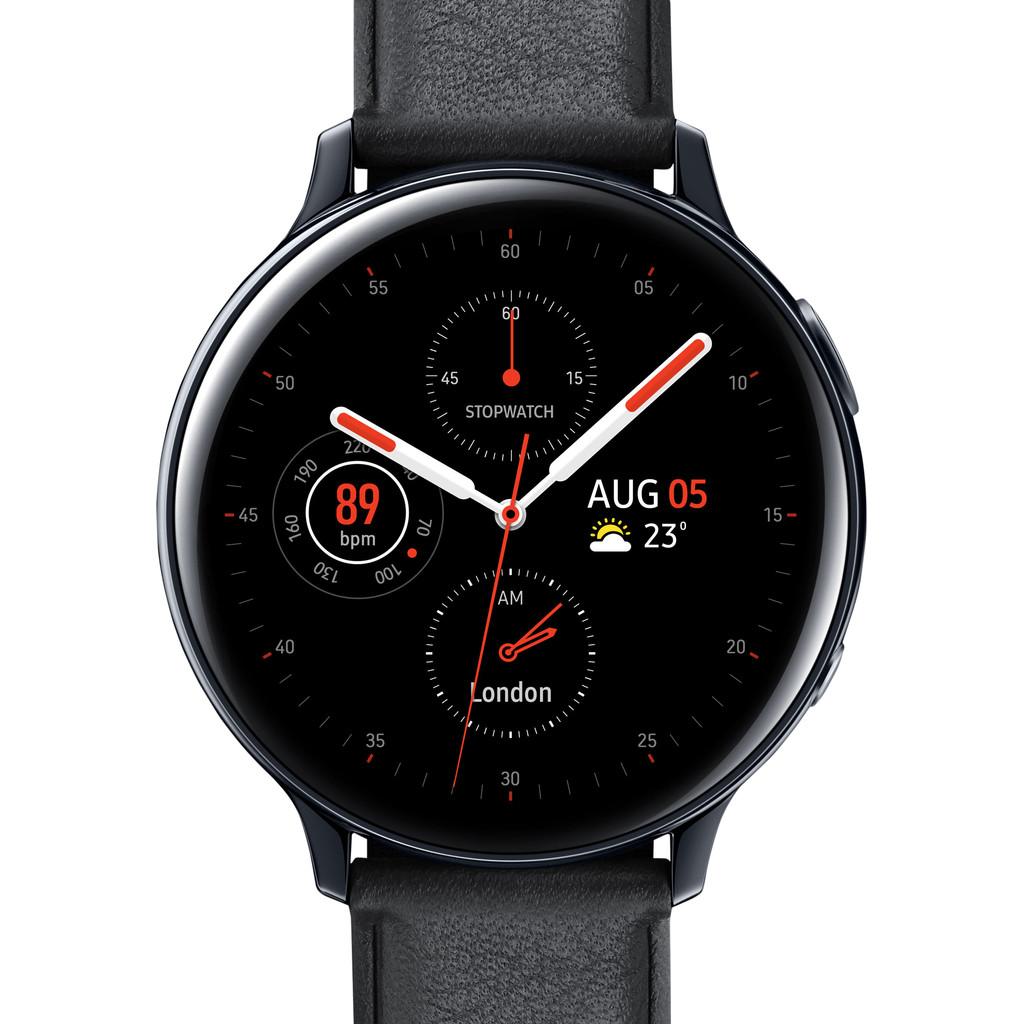Tweedekans Samsung Galaxy Watch Active2 Zwart 44 mm RVS