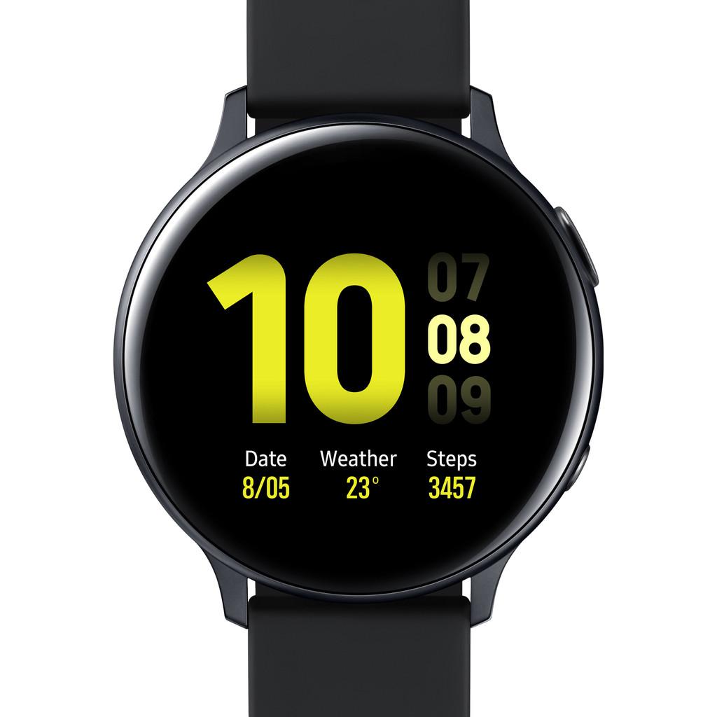 Tweedekans Samsung Galaxy Watch Active2 Zwart 44 mm Aluminium