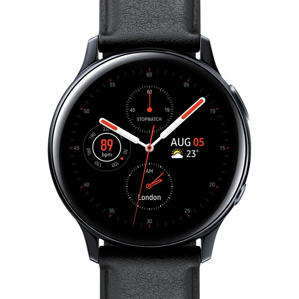 Tweedekans Samsung Galaxy Watch Active2 Zwart 40 mm RVS