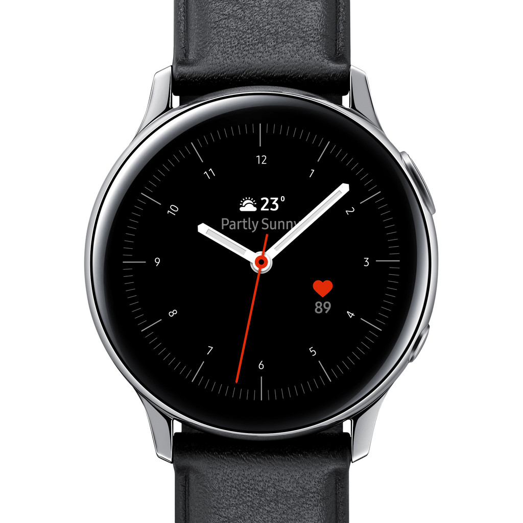 SAMSUNG Galaxy Watch Active2 Fashion 40 mm Zwart-Zilver