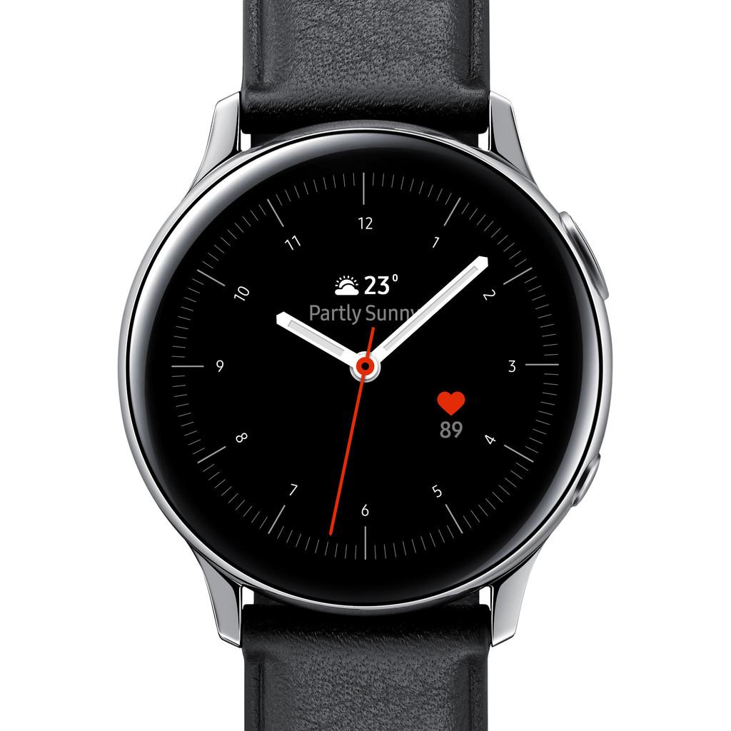 Tweedekans Samsung Galaxy Watch Active2 Zilver / Zwart 40 mm RVS