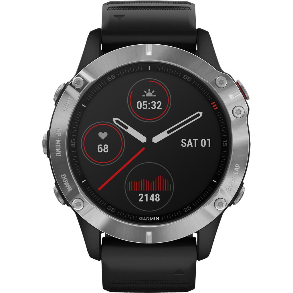 Garmin Fenix 6 - Zwart 47 mm smartwatch