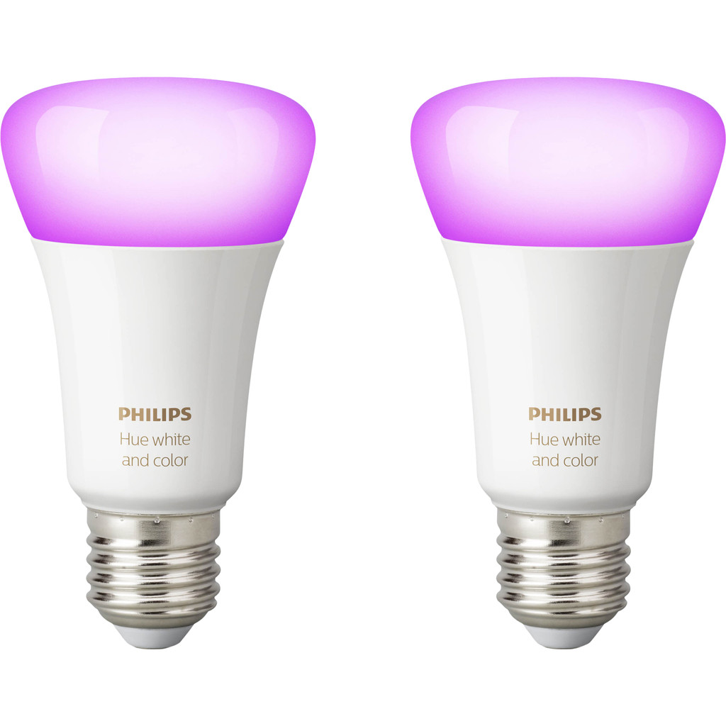 Philips Hue White and Color E27 Duopack Bluetooth