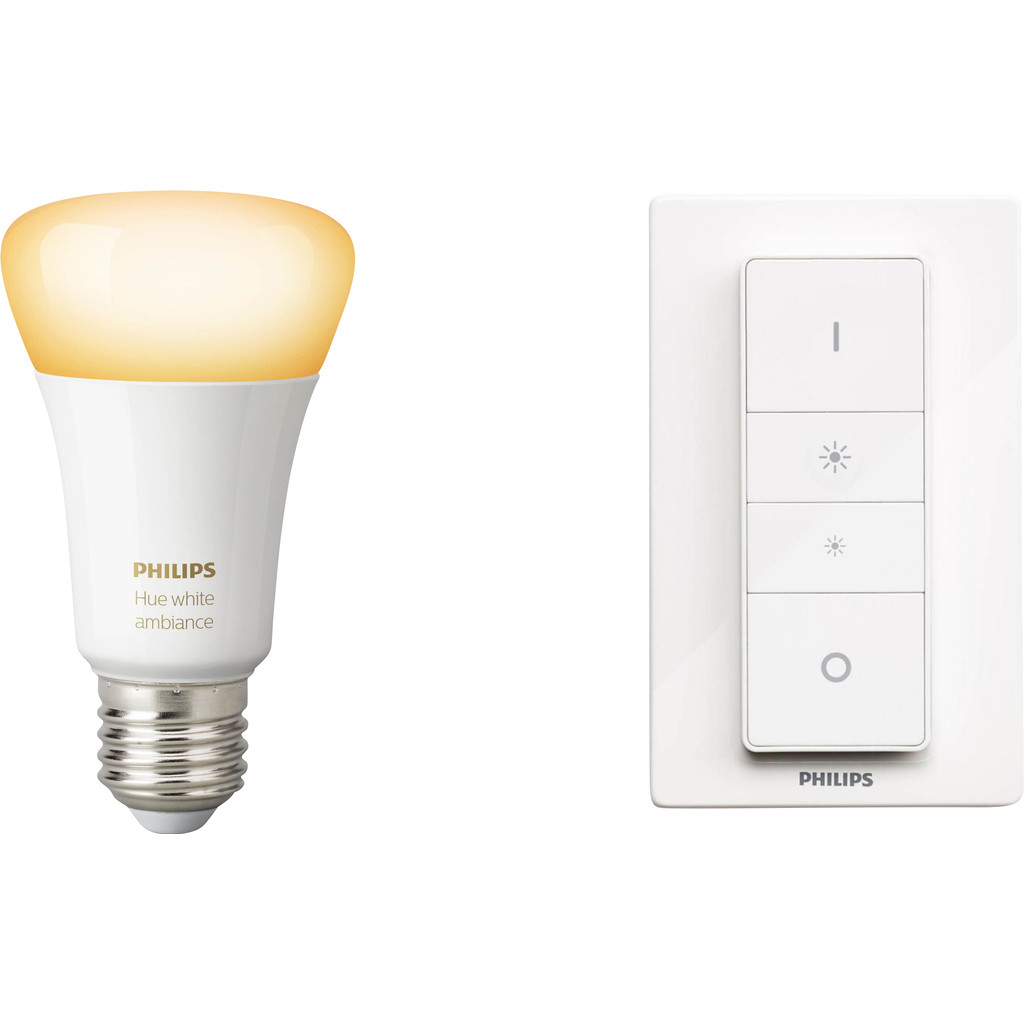 Philips Hue White Ambiance Draadloze Dimmerset Bluetooth