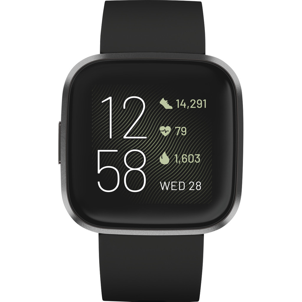 FitBit Versa 2 Smartwatch Uni Zwart