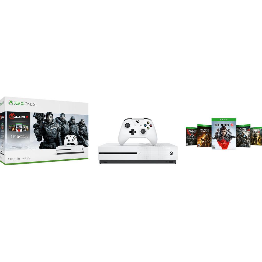 Microsoft Xbox One S 1TB + Gears 5-