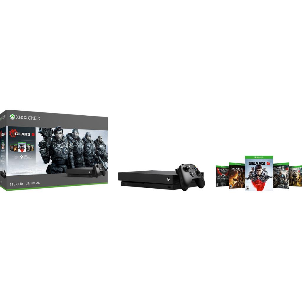 Xbox One X 1TB + Gears 5-