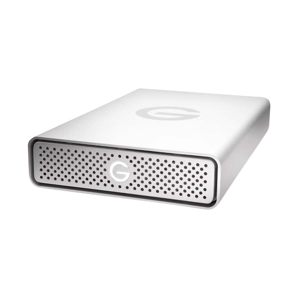 G-Technology G-Drive USB-C 4 TB Externe Apple Mac harde schijf 8.9 cm (3.5 inch) USB-C Zilver