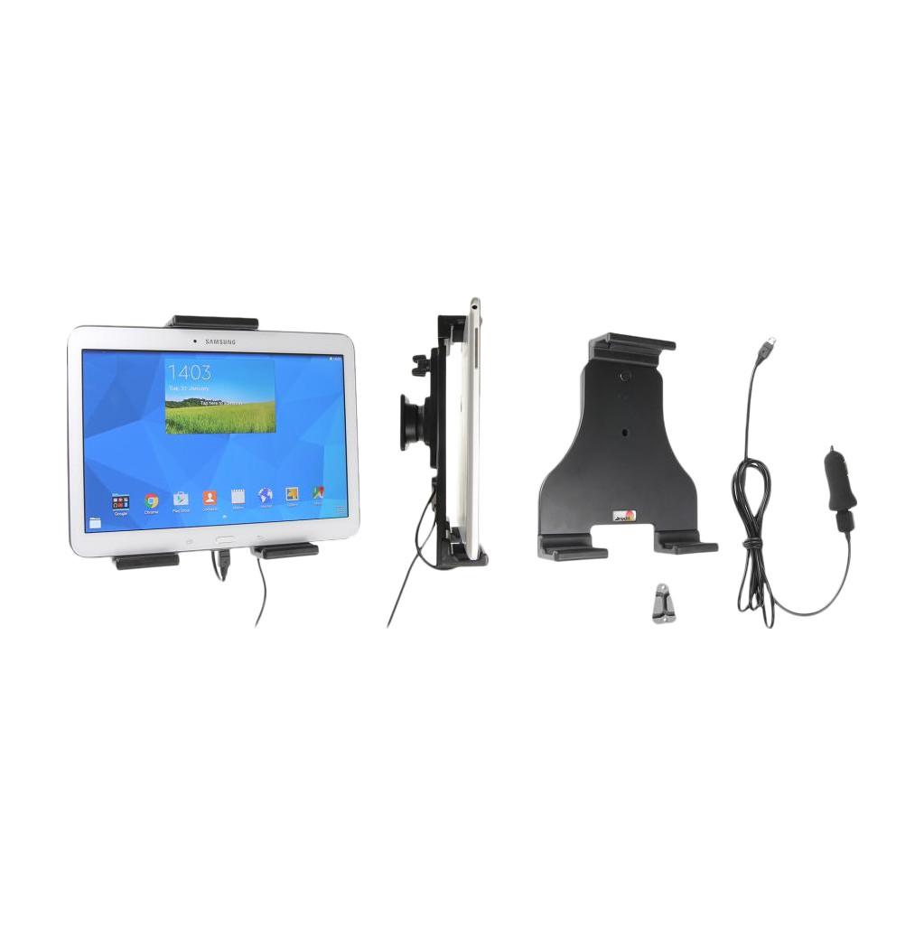 Brodit Universele Autohouder voor Tablets 18 - 23 centimeter met Oplader
