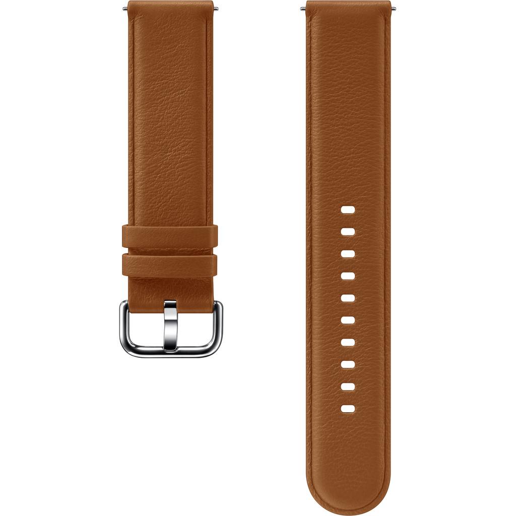 Tweedekans Samsung Galaxy Watch Active 2 Leren Bandje Bruin