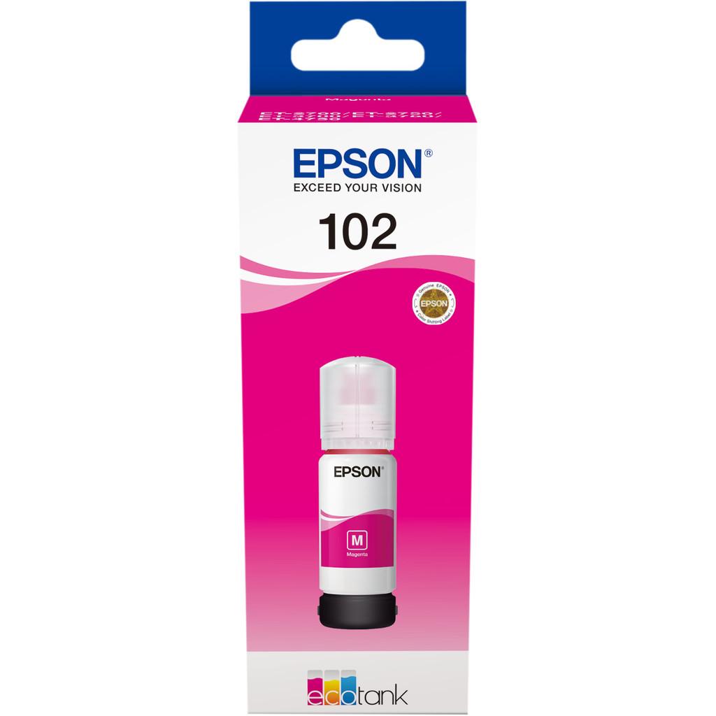 Epson 102 Inktflesje Magenta