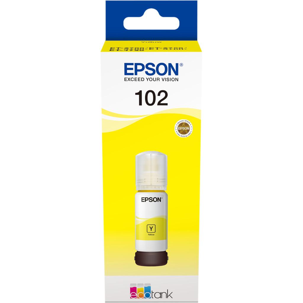 Epson 102 Inktflesje Geel