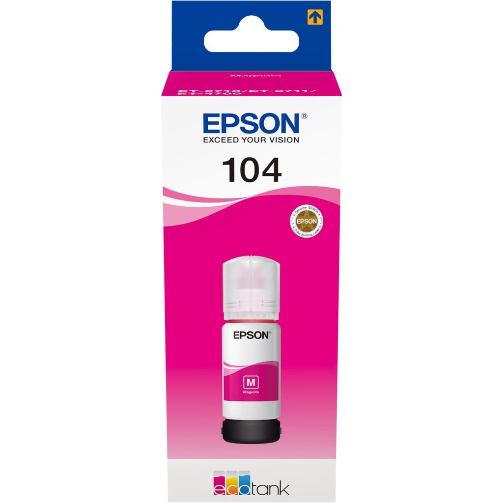 Epson 104 Inktflesje Magenta
