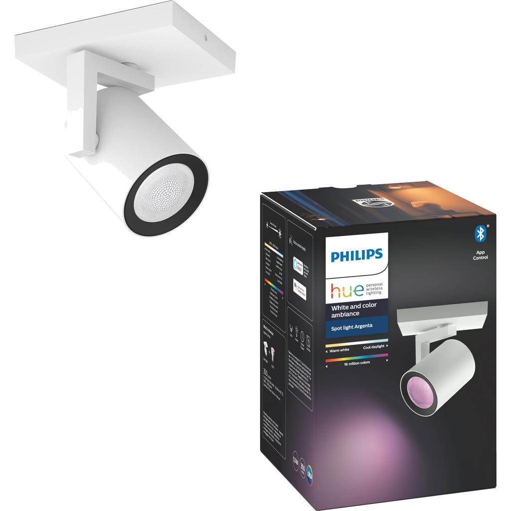 Philips Hue Argenta 1-Spot White & Colour wit