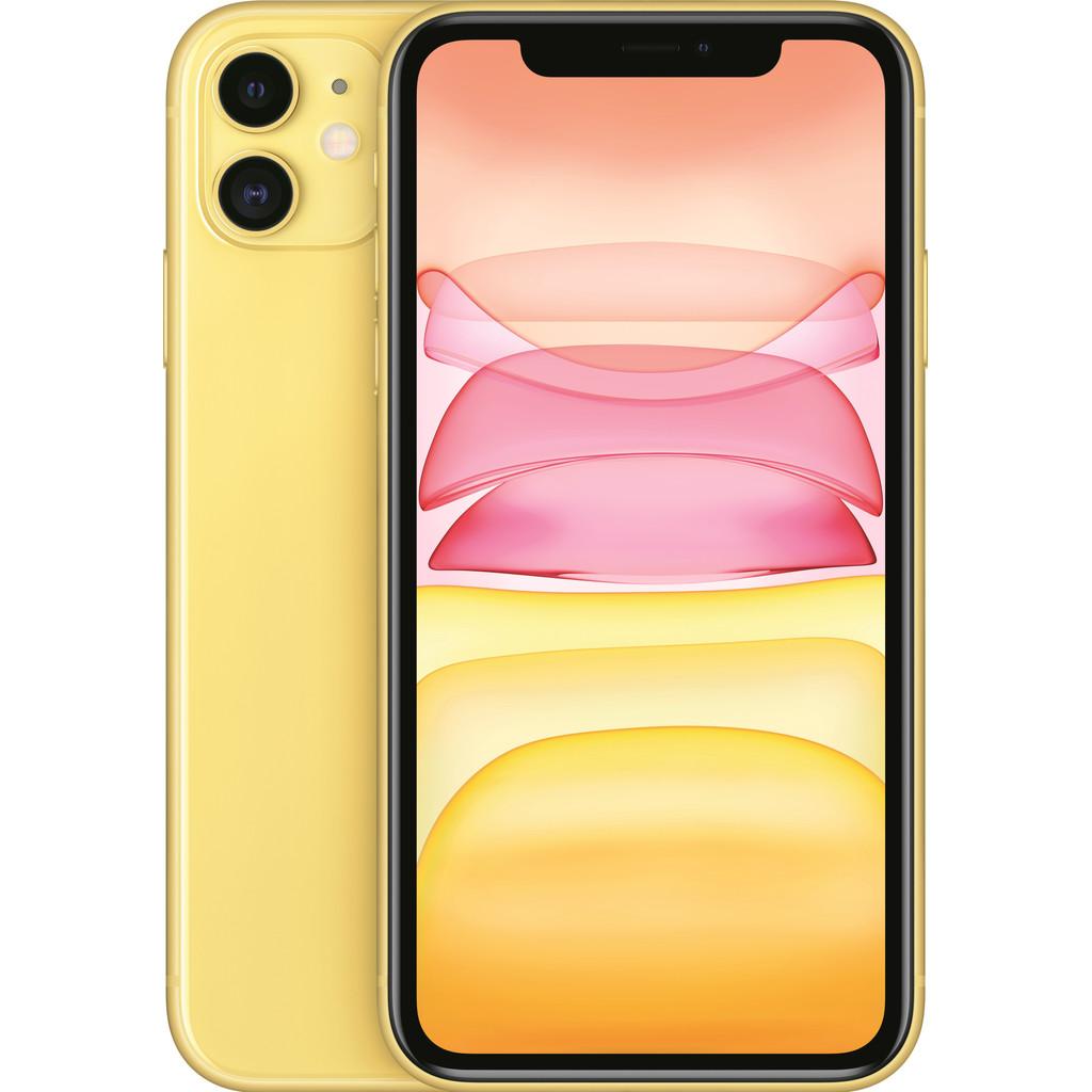 Tweedekans Apple iPhone 11 64 GB Geel Tweedehands