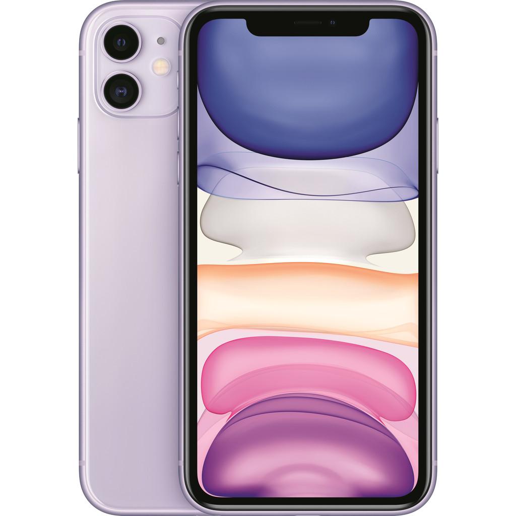 Tweedekans Apple iPhone 11 64 GB Paars