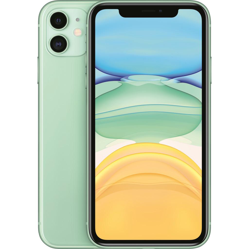 Tweedekans Apple iPhone 11 128 GB Groen