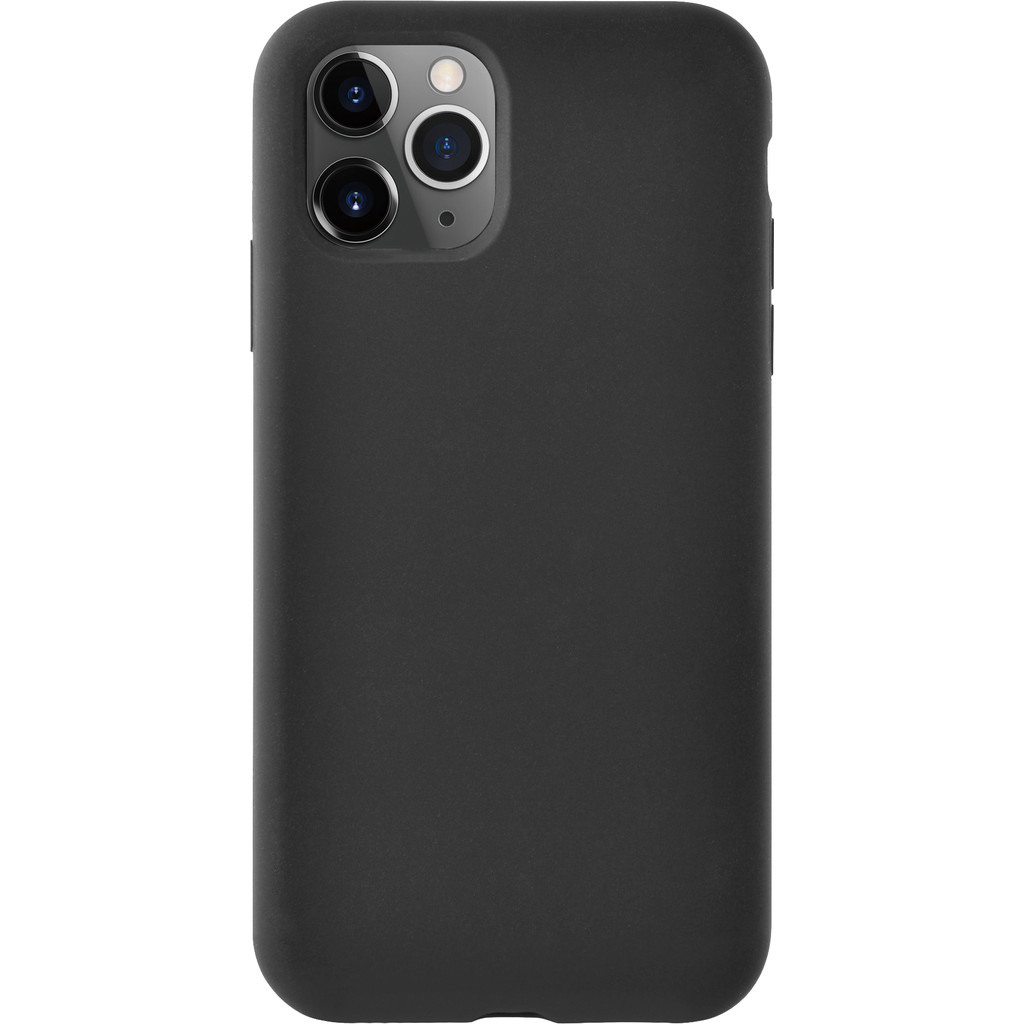 Azuri Apple iPhone 11 Pro Siliconen Back Cover Zwart