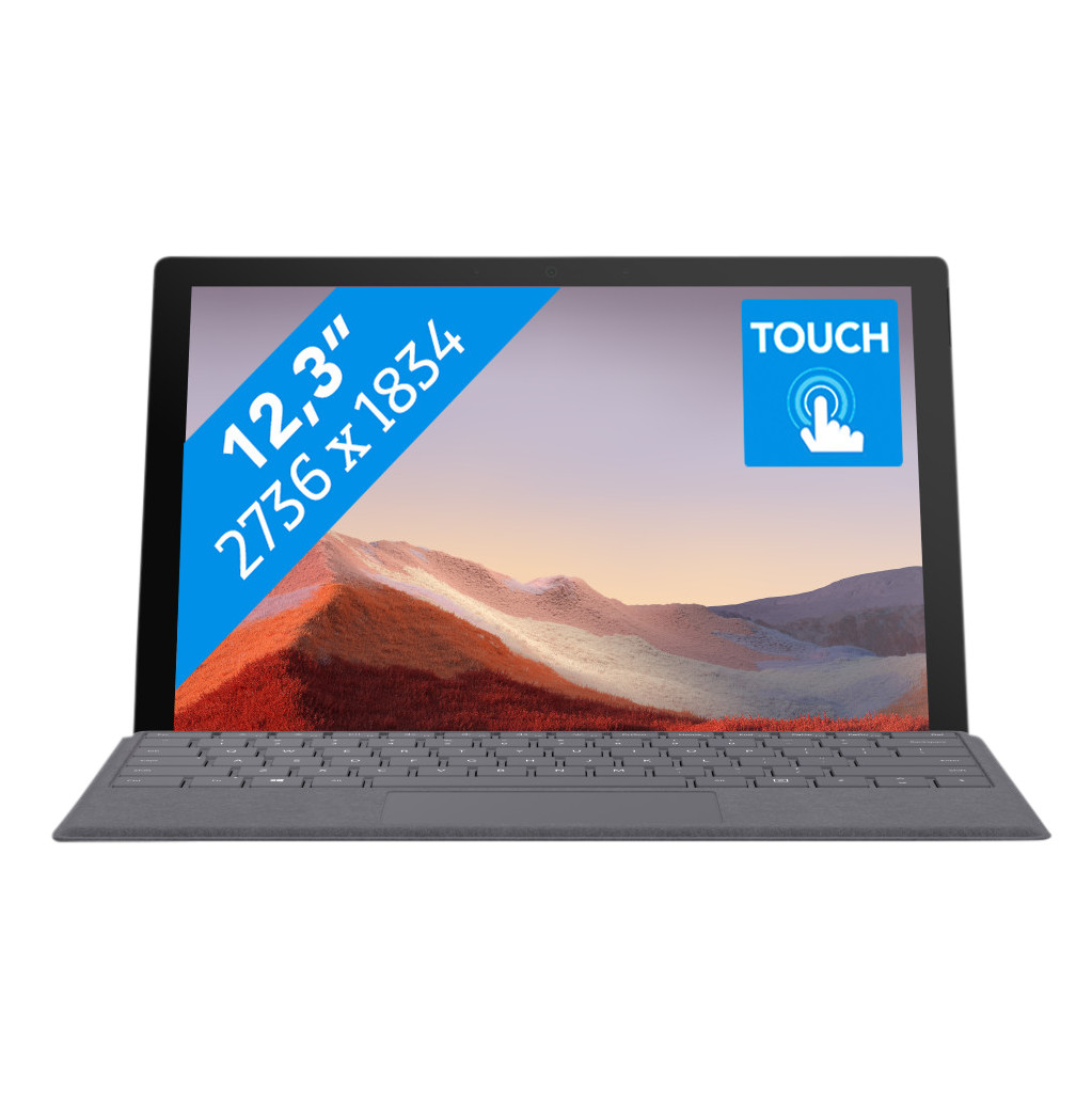 Tweedekans Microsoft Surface Pro 7 - i5 - 8 GB - 256 GB
