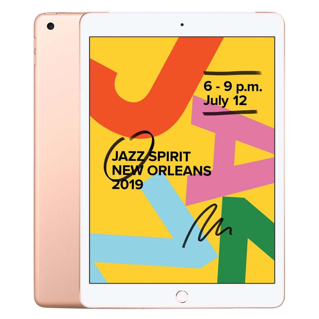 Tweedekans Apple iPad (2019) 128 GB Wifi Goud