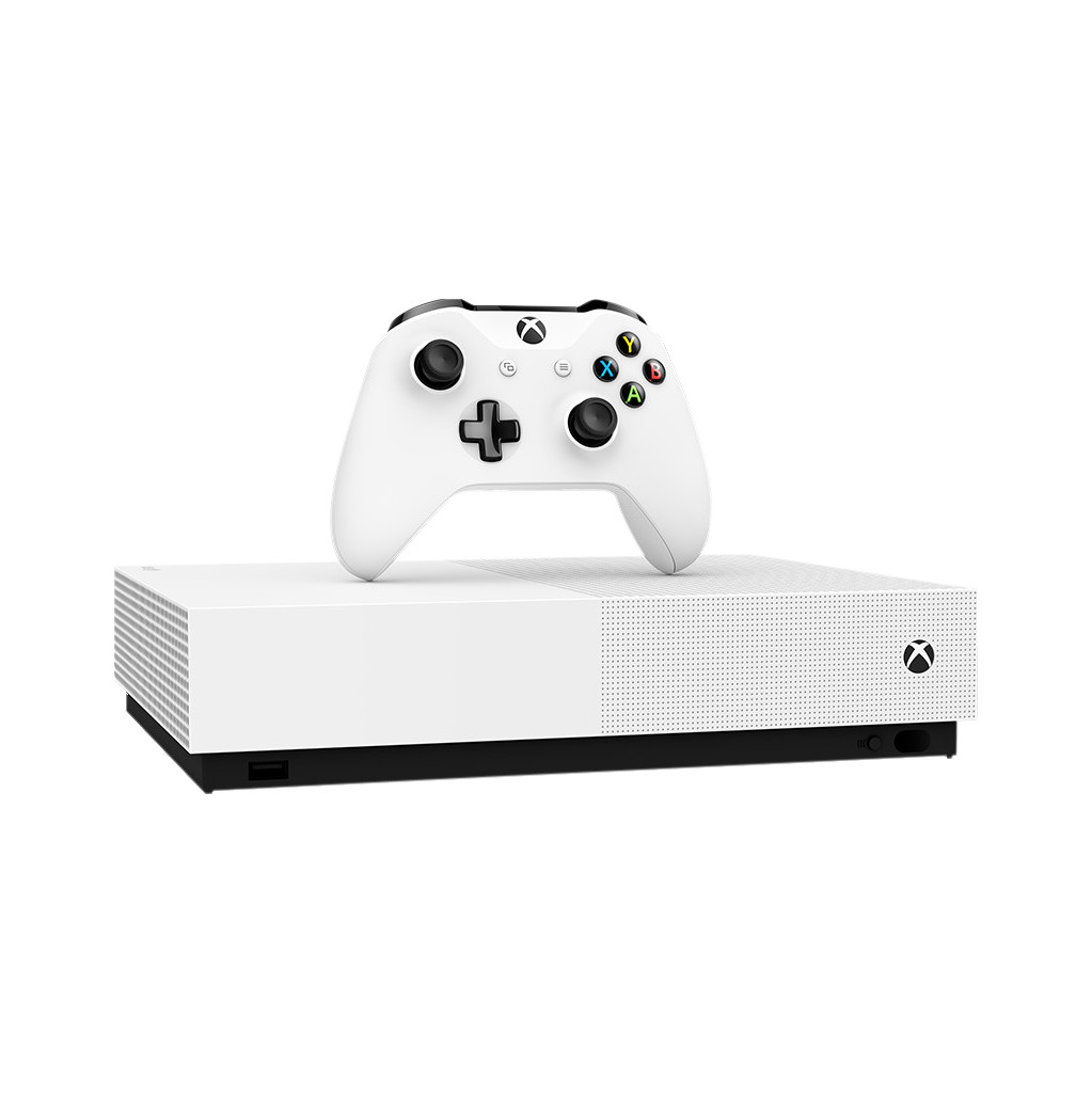 Microsoft Xbox One S All-Digital Edition (1TB) + 3 games & V-Bucks-