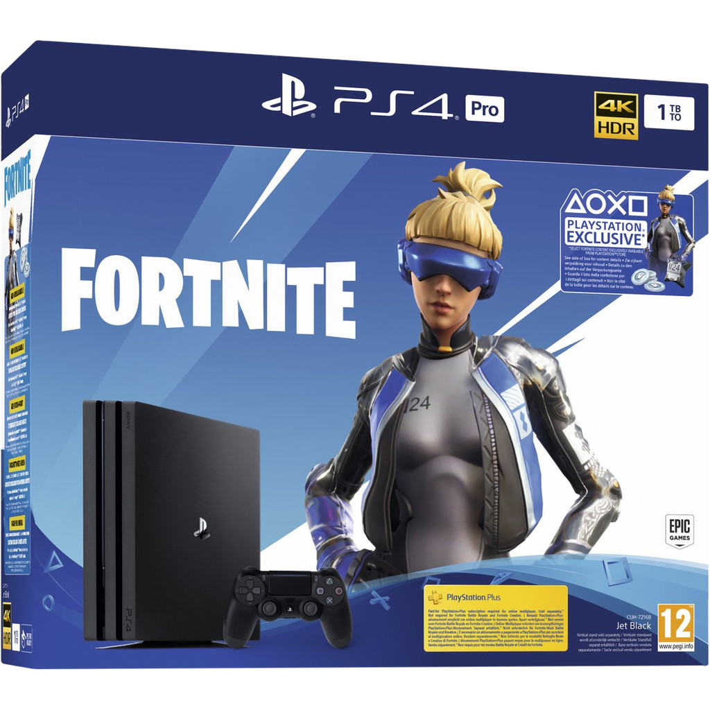 Sony PlayStation 4 Pro 1 TB Fortnite Bundel-