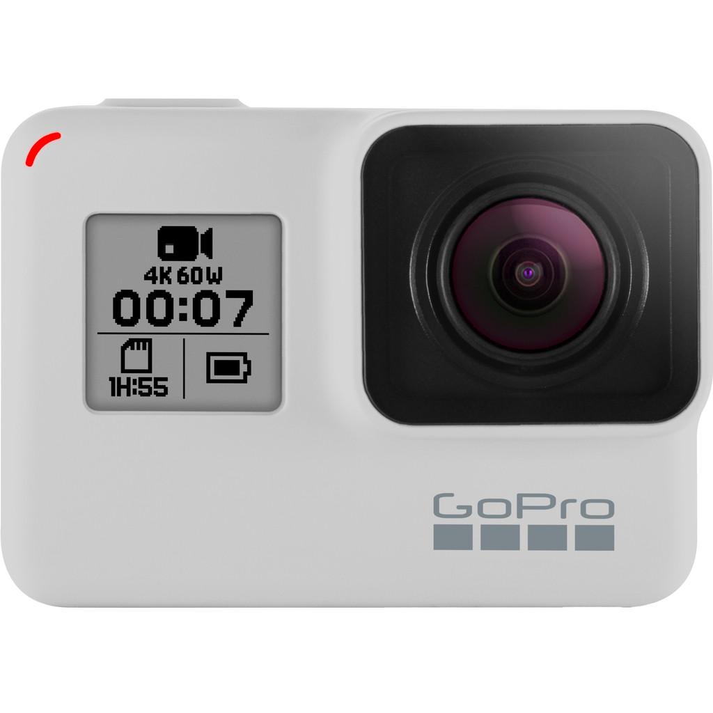 GoPro HERO 7 Black Dusk White Limited Edition-4K met 60 frames per seconde  12 megapixel foto's  Waterdicht tot 10 meter  Geavanceerde beeldstabilisatie