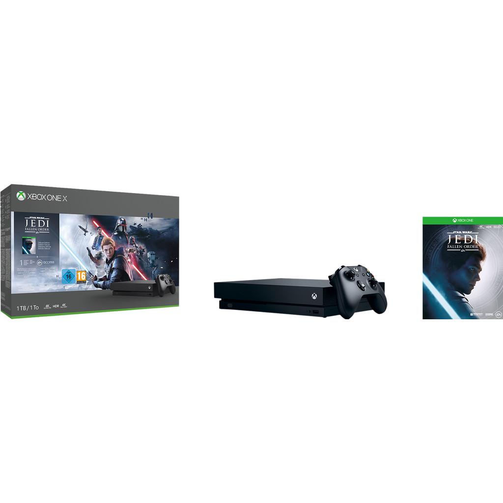 Xbox One X 1TB + Star Wars-