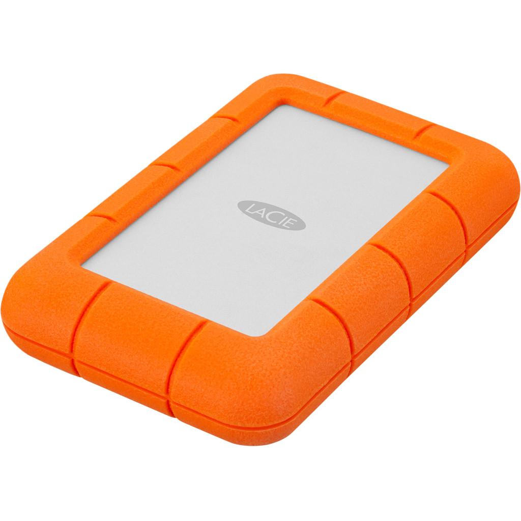 LaCie Rugged Mini Externe harde schijf (2.5 inch) 5 TB Zilver, Oranje USB 3.0