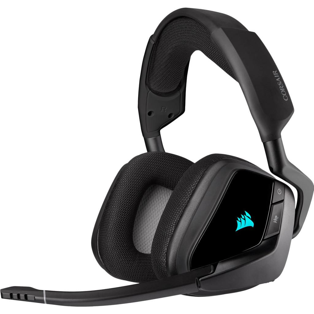 Tweedekans Corsair Void RGB Elite Draadloze Gaming Headset PC/PS4/PS5 Carbon/Zwart