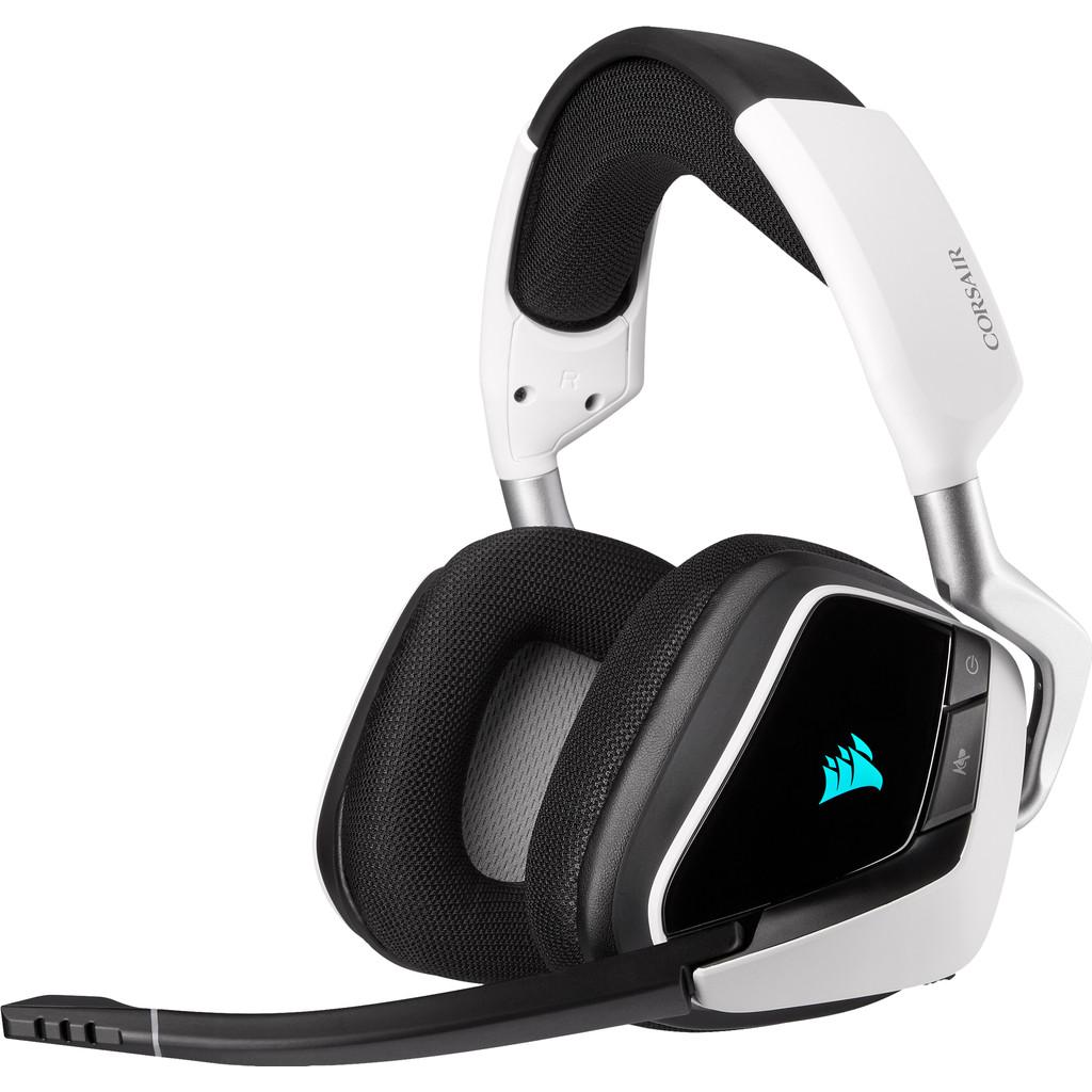 Tweedekans Corsair Void RGB Elite Draadloze Gaming Headset PC/PS4/PS5 Zwart/Wit