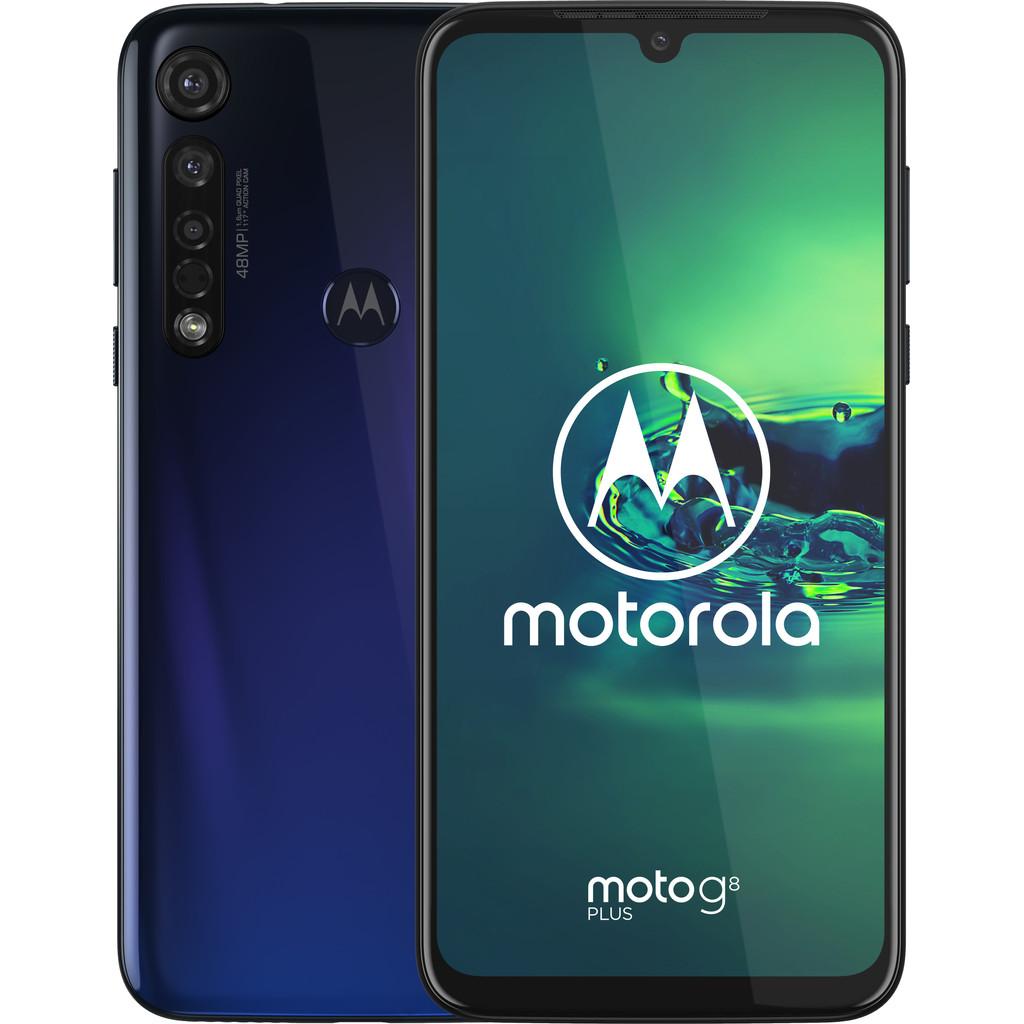 Tweedekans Motorola Moto G8 Plus Blauw