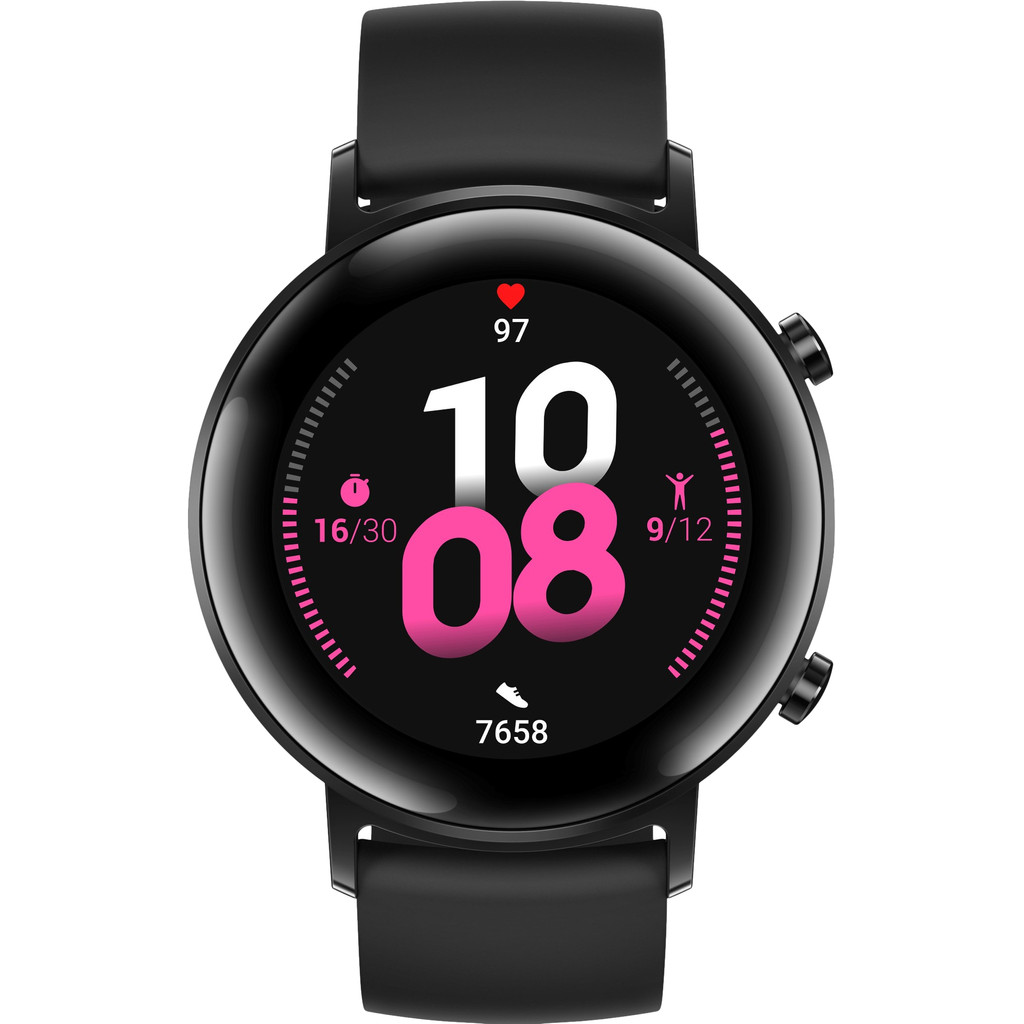 Tweedekans Huawei Watch GT 2 RVS Zwart 42mm