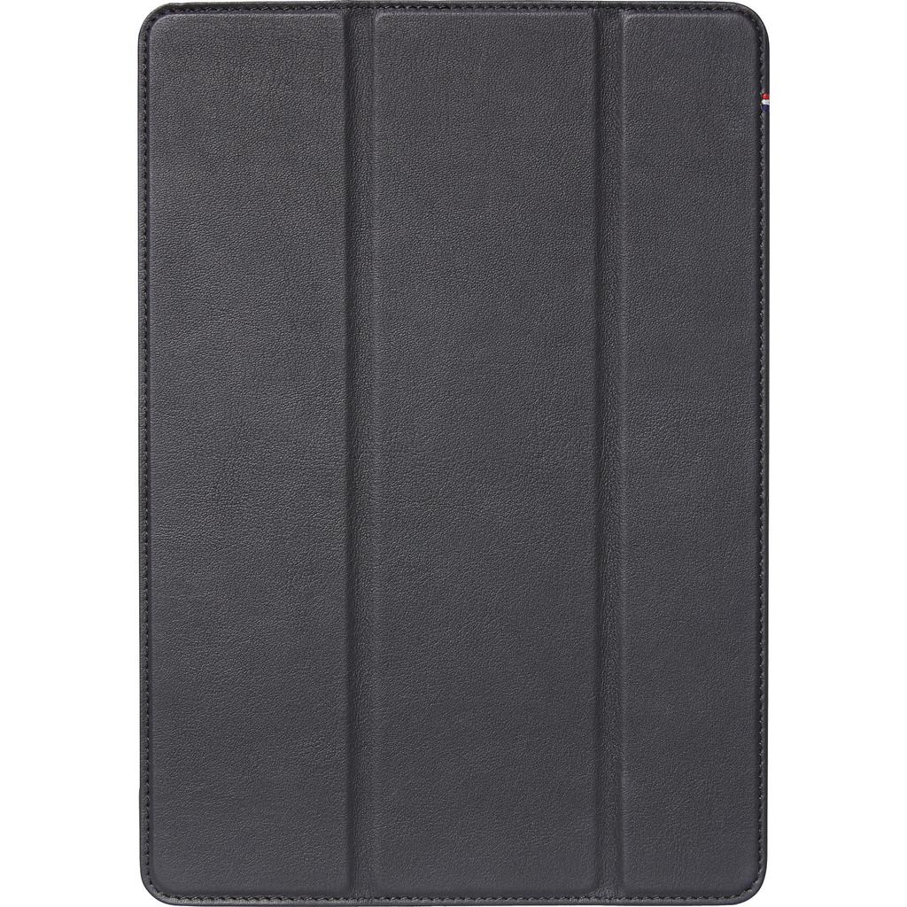 Tweedekans Decoded Leather Slim Cover Apple iPad (2020)/(2019) Book Case Zwart