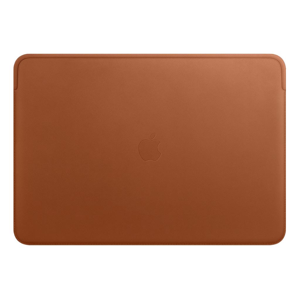 Apple MacBook Pro 16'' Leather Sleeve Zadelbruin