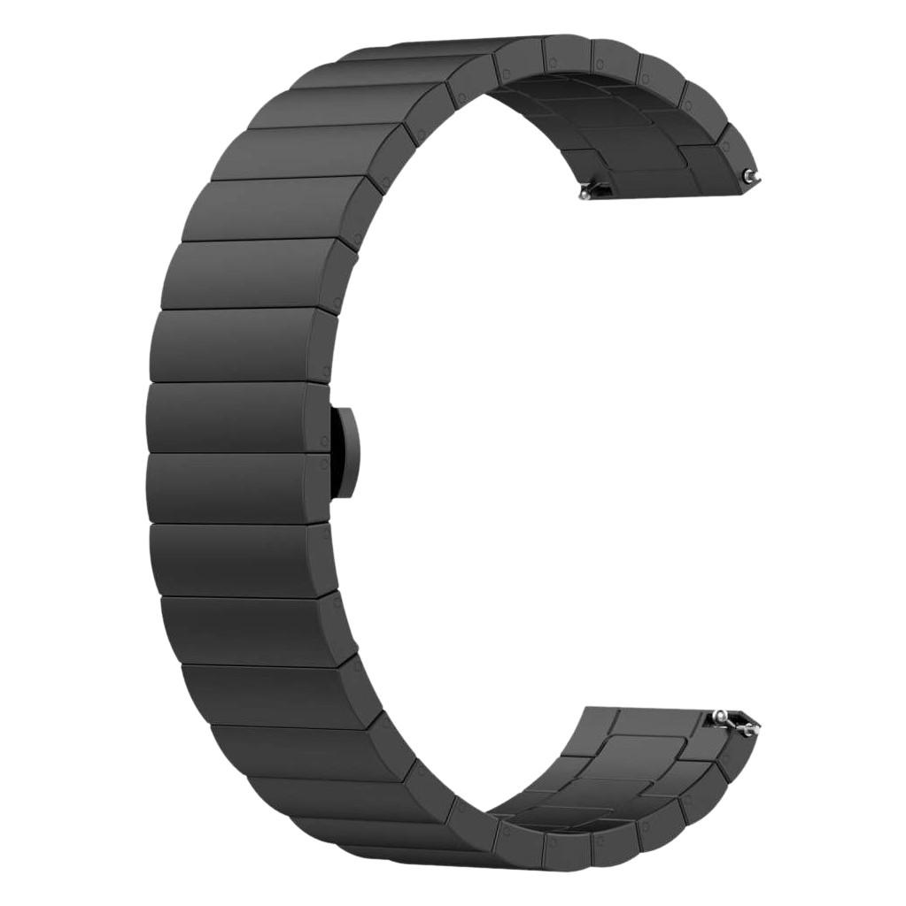 Tweedekans Just in Case Samsung Galaxy Watch Active2 Metalen Bandje Zwart