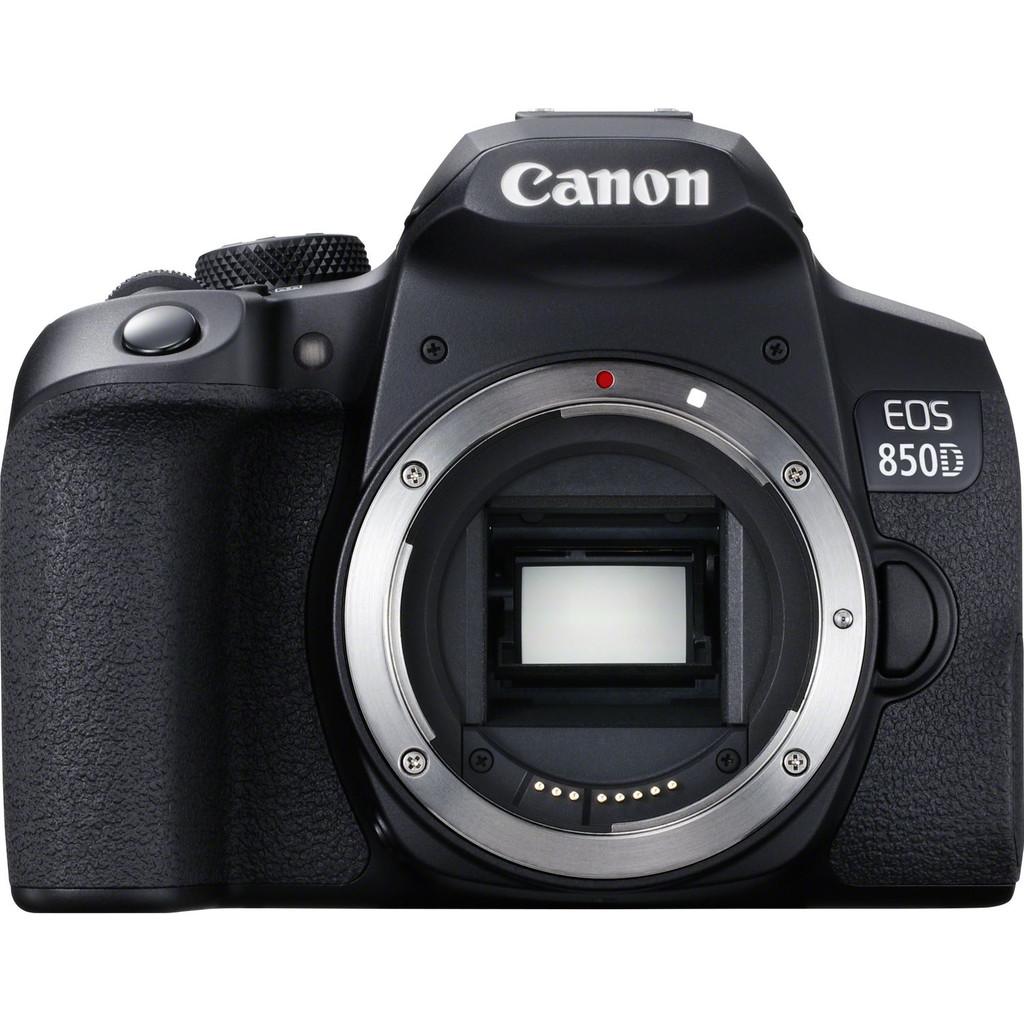 Canon EOS 850D Body-Geschikt voor type fotograaf: Gevorderd  Lens meegeleverd: Nee  Type beeldsensor: APS-C
