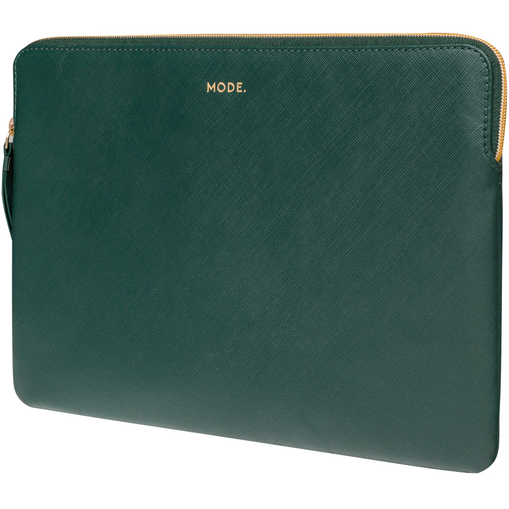 dbramante1928 Paris 13 inch MacBook Sleeve Leer Groen