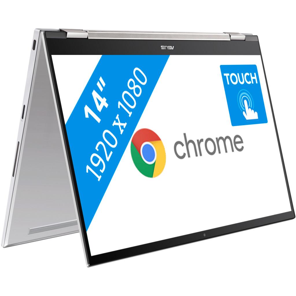 Tweedekans Asus Chromebook Flip C436FA-E10131 Tweedehands