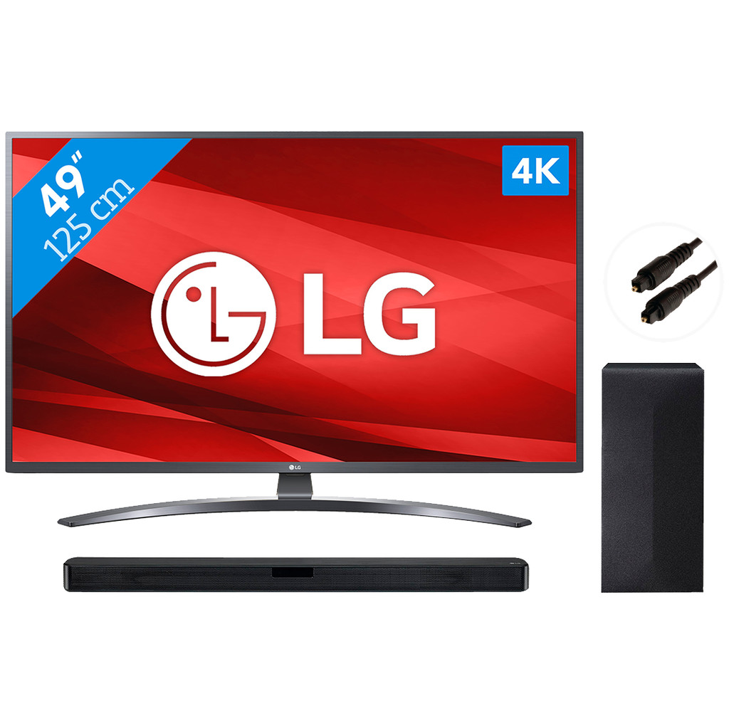 LG 49UM7400 + Soundbar