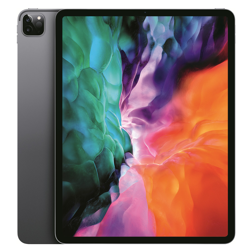 Apple iPad Pro (2020) 12.9 inch 512 GB Wifi Space Gray-512 GB opslagcapaciteit  12.9 inch Liquid Retina scherm  iPadOS