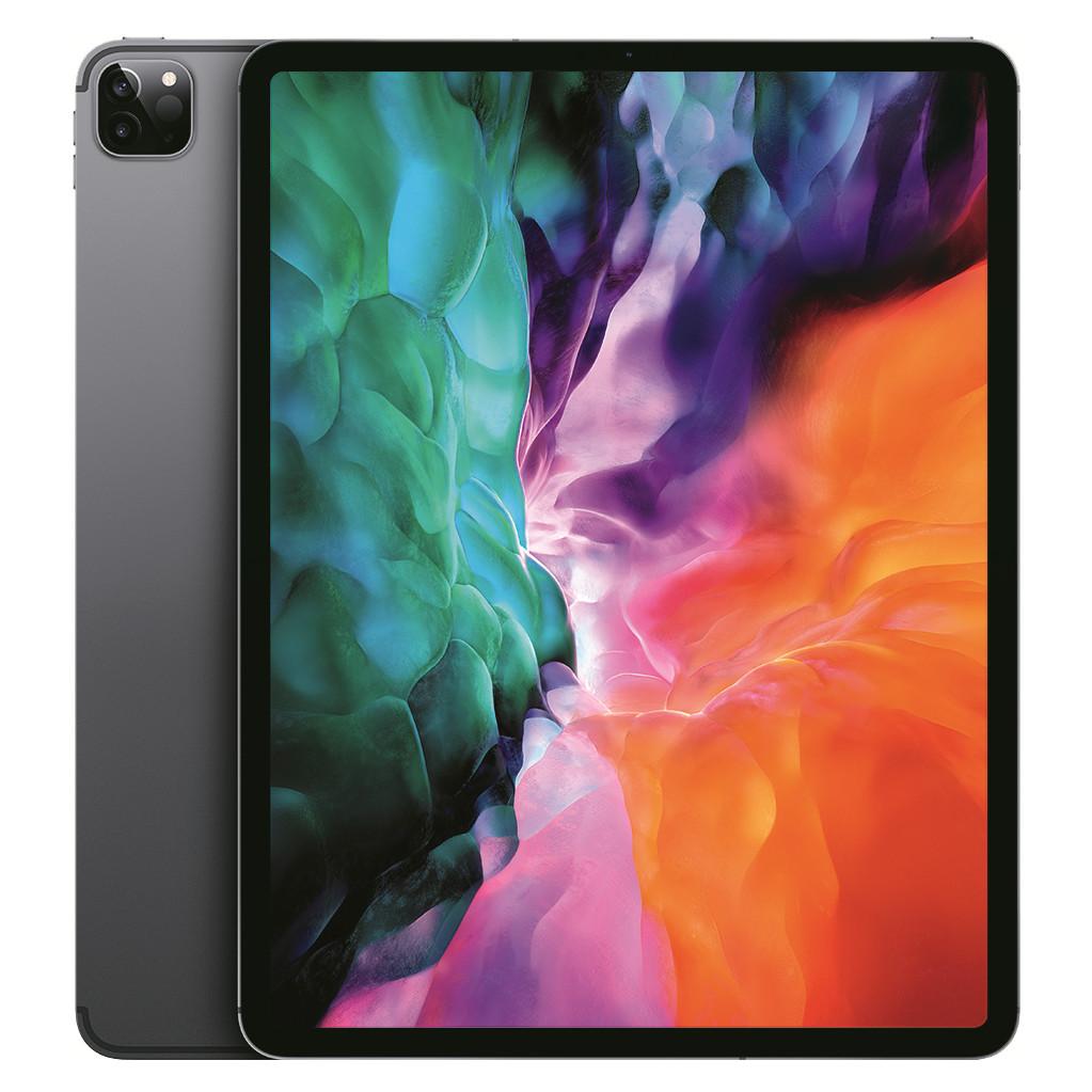 Apple iPad Pro (2020) 12.9 inch 512 GB Wifi + 4G Space Gray-512 GB opslagcapaciteit  12.9 inch Liquid Retina scherm  iPadOS
