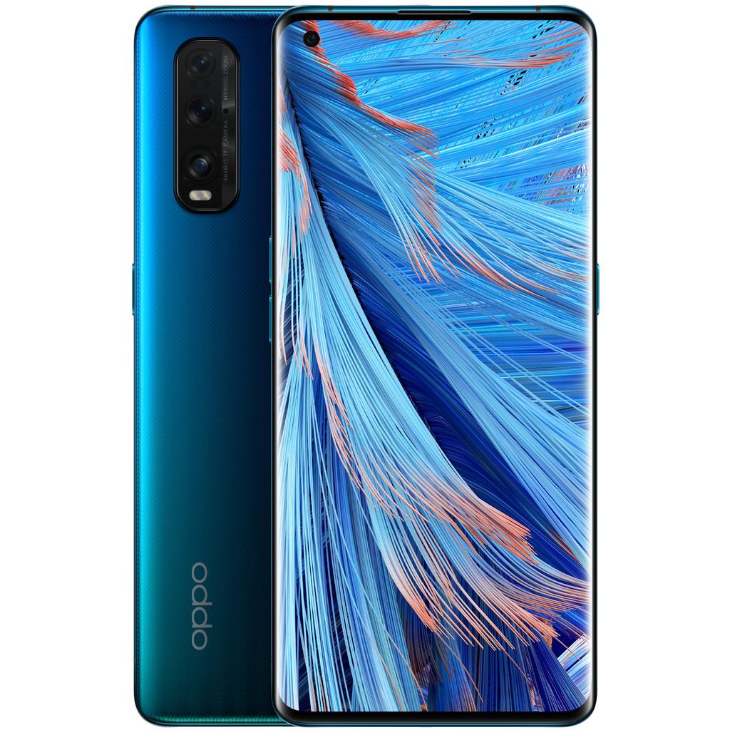 OPPO Find X2 256GB Blauw 5G-256 GB opslagcapaciteit  6,7 inch quad hd scherm  Android 10