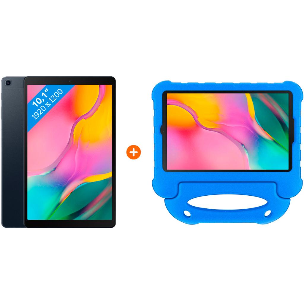 Samsung Galaxy Tab A 10.1 (2019) Wifi 64GB + Kinderhoes Blauw