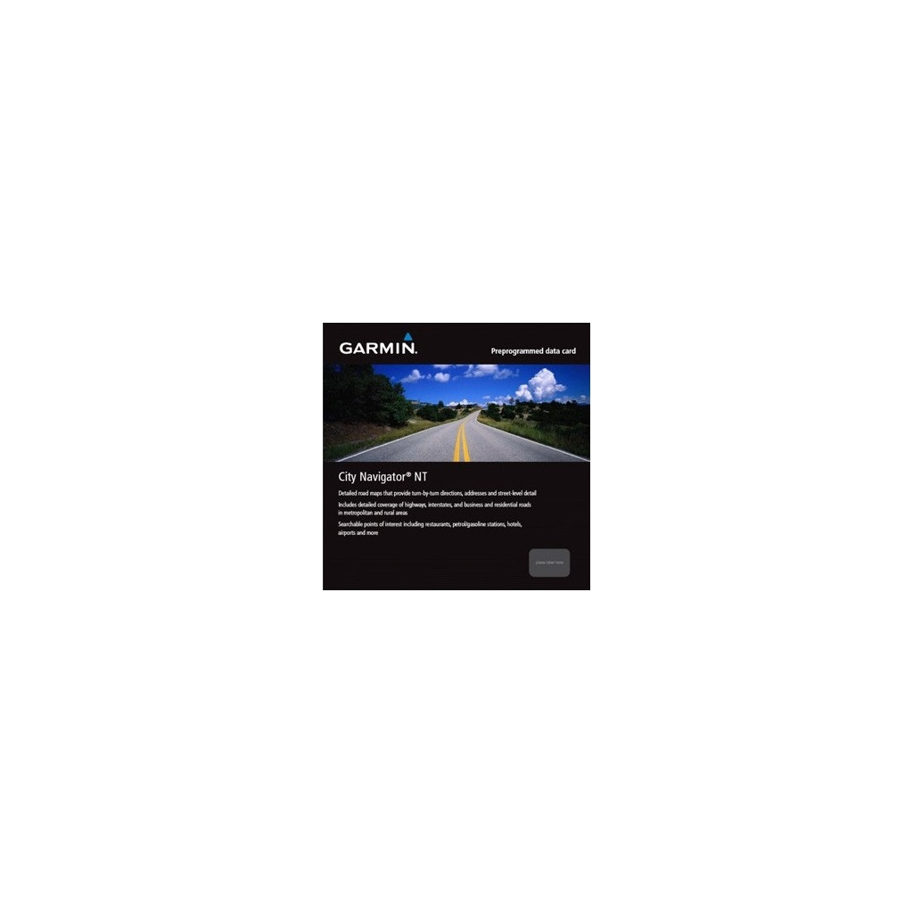 Afbeelding van Garmin City Navigator NT Europe microSD/SD navigatiekaart