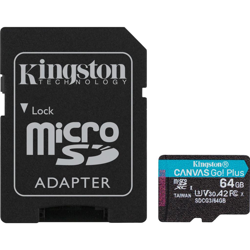 Kingston microSDXC Canvas Go Plus 64GB kopen