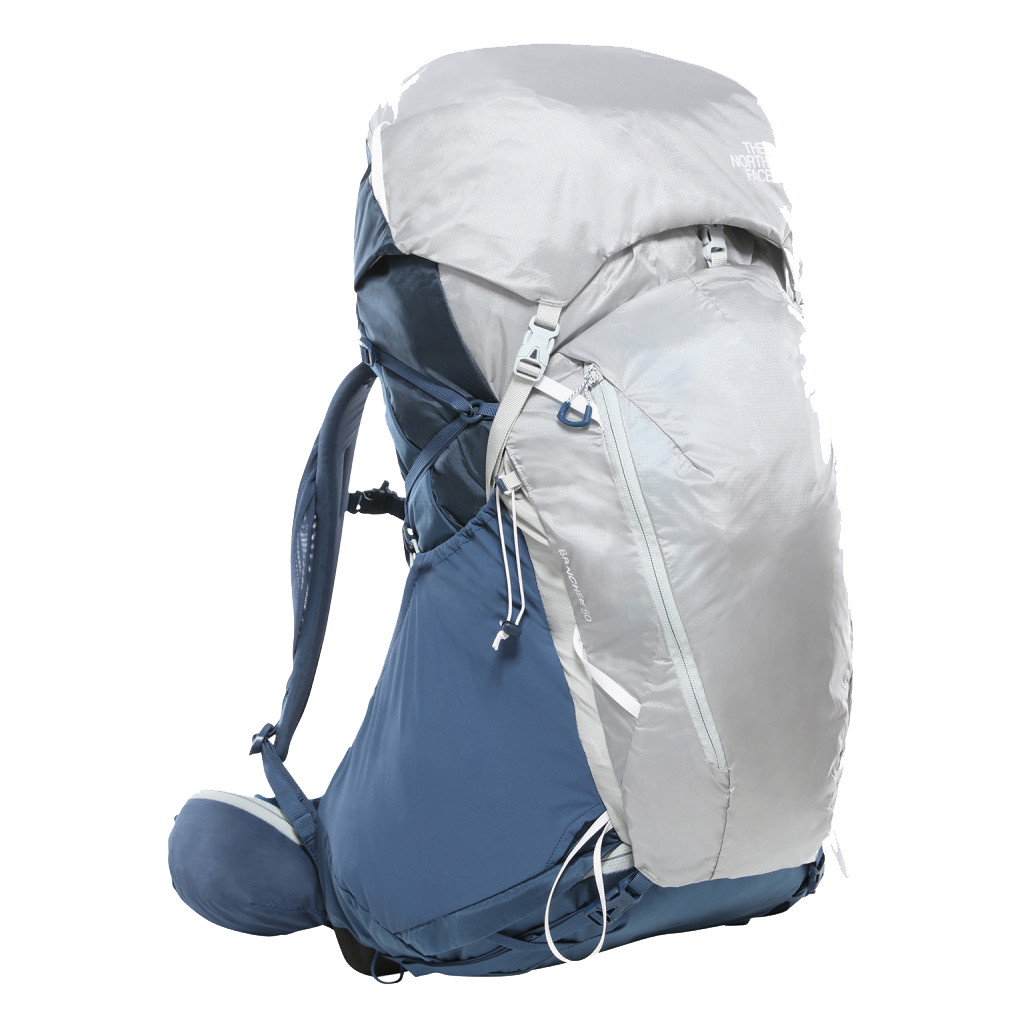 The North Face Women's Banchee 50L Shady Blue/High Rise Grey