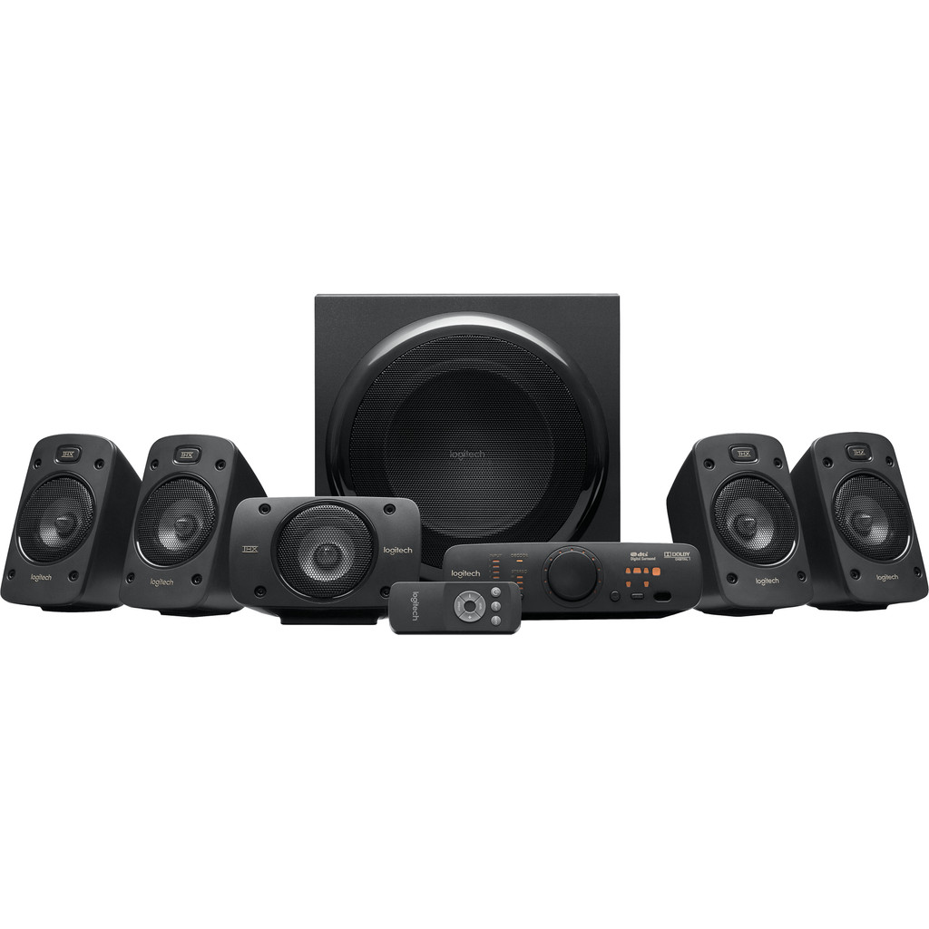 Tweedekans Logitech Z906 5.1 Surround Sound Pc Speaker + Receiver